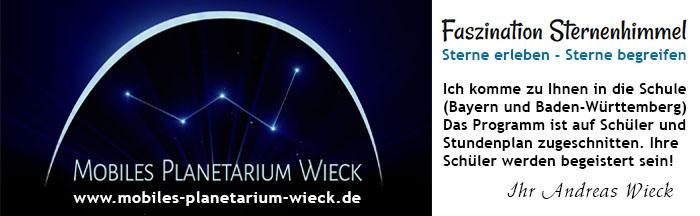 Mobiles Planetarium Wieck