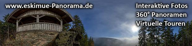 Werbebanner für www.eskimue-panorama.de