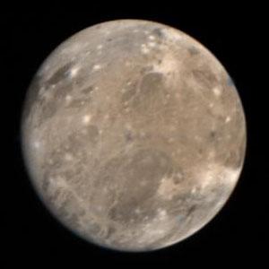 Jupitermond Ganymed