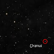 Uranus im September 1781