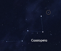 Supernova in Cassiopeia